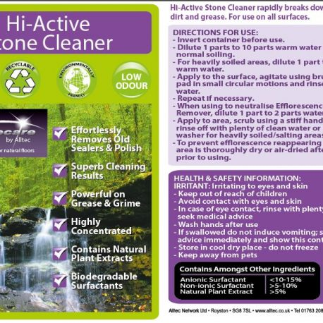 hi active cleaner